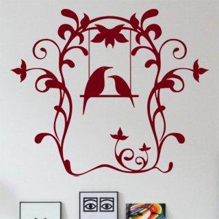 Samolepka na zeď Ptáci 001 - 96x80 cm