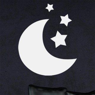 Nálepka na zeď Měsíček 002 - 120x147 cm