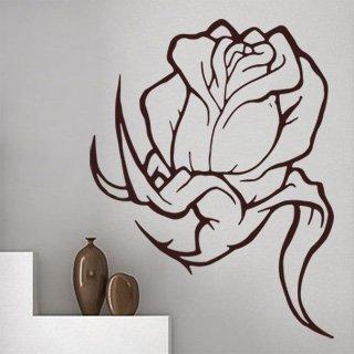 Samolepící dekorace Kytka 002 - 92x120 cm