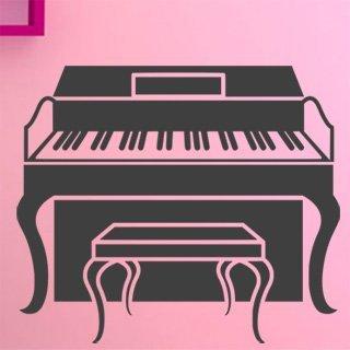 Samolepka na zeď Piano 010 - 70x60 cm
