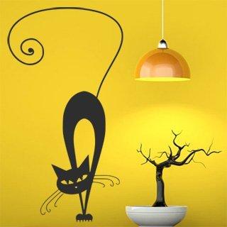 Samolepící dekorace Kočka 010 - 80x150 cm