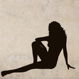 Nálepka na zeď Sexy žena 004 - 120x89 cm