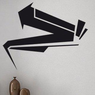 Nálepka na zeď Šipka 008 - 152x120 cm