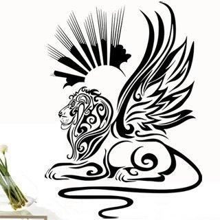 Samolepící dekorace Lví sfinga 001 - 100x138 cm