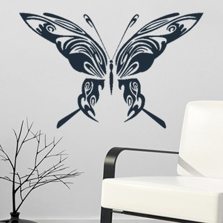 Samolepka Motýl 004 - 120x77 cm
