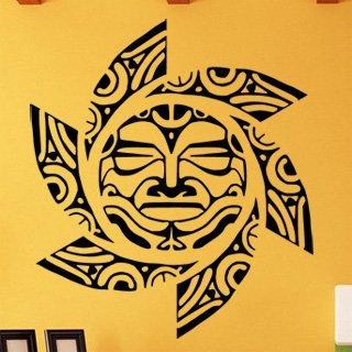 Samolepící dekorace Slunce 0192 - 100x114 cm
