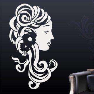 Samolepící dekorace Žena 008 - 80x142 cm