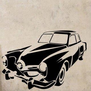 Samolepka na zeď Auto 033 - 87x60 cm