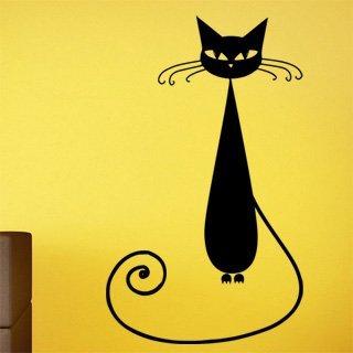Nálepka na zeď Kočka 005 - 100x168 cm