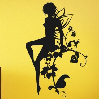 Samolepící dekorace Víla 0213 - 100x155 cm