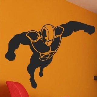 Samolepící dekorace Superhrdina 001 - 120x90 cm