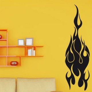 Samolepka na zeď Plameny 006 - 60x213 cm