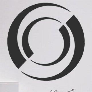 Samolepící dekorace Kruhy 009 - 100x100 cm
