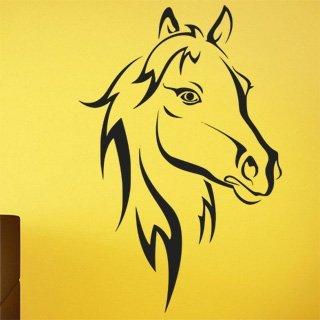 Nálepka na zeď Kůň 011 - 120x181 cm