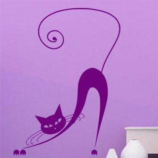 Samolepka na stěnu Kočka 011 - 120x167 cm