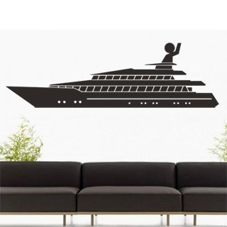 Samolepící dekorace Loď 005 - 267x80 cm
