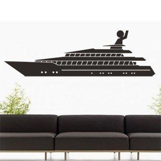 Samolepka na zeď Loď 005 - 120x36 cm
