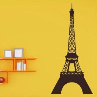 Samolepka na zeď Eifelova věž 001 - 55x120 cm