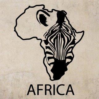 Samolepící dekorace Zebra 009 - 93x120 cm