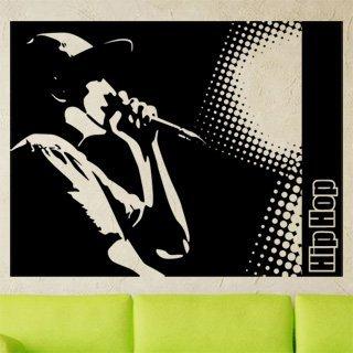 Samolepící dekorace Hip Hop 001 - 120x93 cm