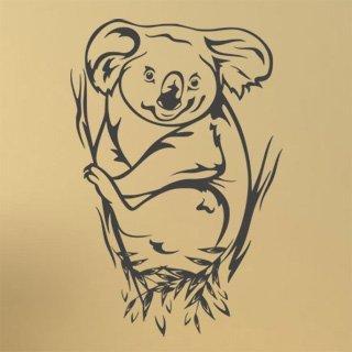 Samolepka na zeď Koala 002 - 60x90 cm