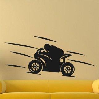 Samolepka na stěnu Motorka 022 - 267x120 cm