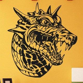 Nálepka na zeď Čínský drak 001 - 112x120 cm