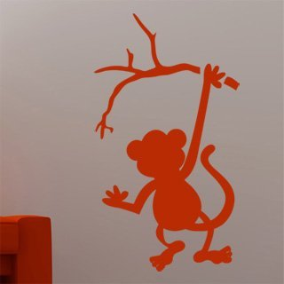 Samolepka Opička 001 - 68x120 cm