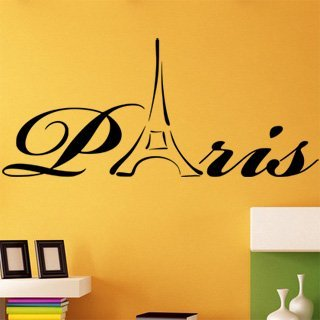 Nálepka na zeď Paříž 006 - 227x100 cm
