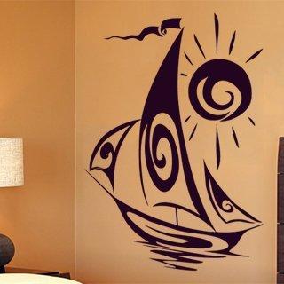 Samolepící dekorace Plachetnice 001 - 89x120 cm