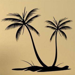 Samolepka Palmy 001 - 134x120 cm