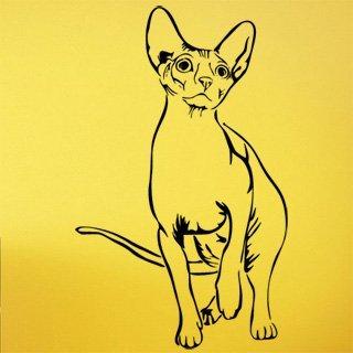 Samolepící dekorace Kočka 0497 - 100x162 cm