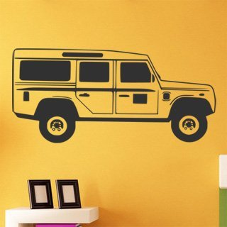 Nálepka na zeď Auto 054 - 215x100 cm