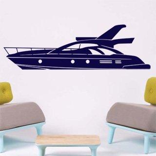 Samolepící dekorace Loď 003 - 267x80 cm