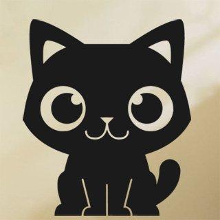 Samolepka Kočička 0528 - 80x94 cm
