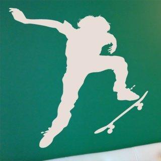 Nálepka na zeď Skateboardista 002 - 114x120 cm