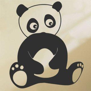 Samolepka na zeď Panda 005 - 60x71 cm