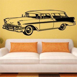 Samolepící dekorace Auto 008 - 204x80 cm