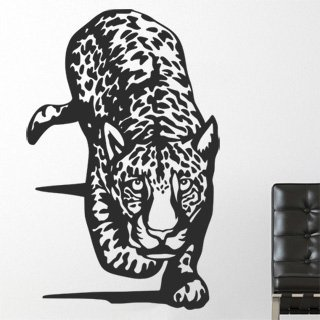 Samolepka na zeď Jaguár 002 - 60x95 cm