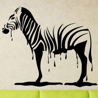 Samolepka Zebra 011 - 120x103 cm