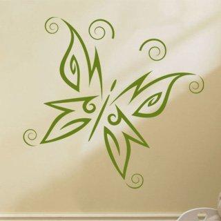 Samolepka na stěnu Motýl 002 - 120x139 cm