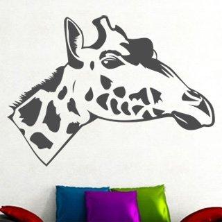 Samolepící dekorace Žirafa 006 - 120x87 cm
