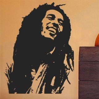 Samolepka na stěnu Bob Marley 001 - 120x157 cm