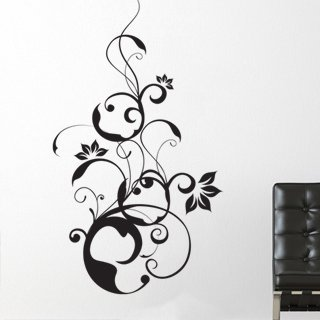 Samolepka na stěnu Rostlina 003 - 120x209 cm