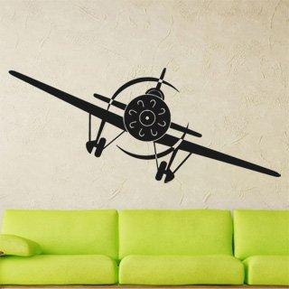 Samolepící dekorace Letadlo 002 - 192x80 cm