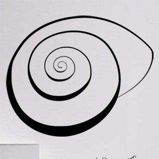 Samolepka na zeď Mušle 0289 - 74x60 cm