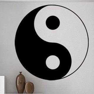 Samolepka na zeď Jing Jang 0314 - 60x60 cm