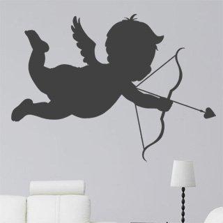 Nálepka na zeď Amorek 001 - 168x120 cm