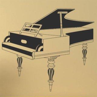 Nálepka na zeď Piano 004 - 134x120 cm