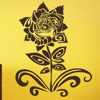 Nálepka na zeď Růže 007 - 100x125 cm